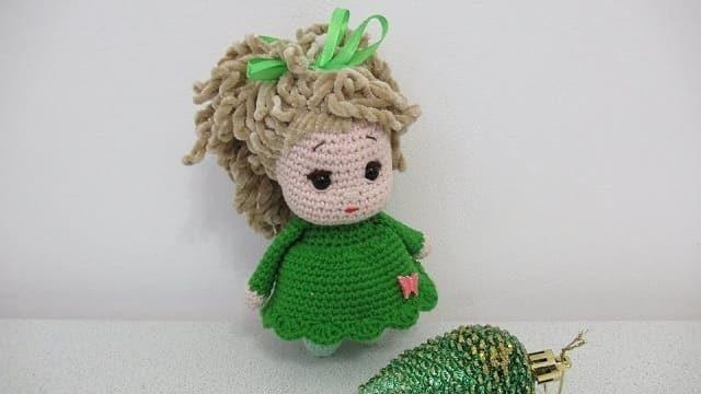Мастер-класс куколка амигуруми