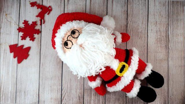 Мастер-класс плюшевый Санта Клаус